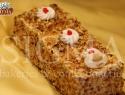 Almond caramel loaf