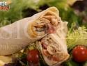 Mediterranean wrap in Sigma tortilla